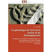 La généalogie du parti de la justice et du développement