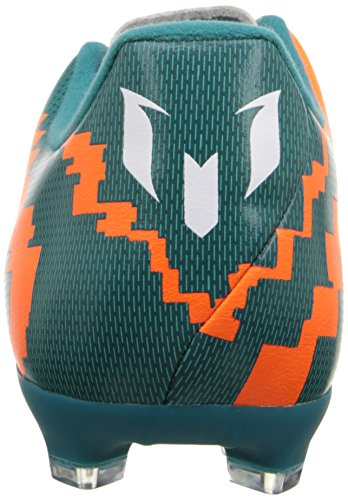 Adidas Performance Messi 10,3 Firm-sol Football Taquet, puissance Teal / blanc / avertissement, 6,5 Power Teal/Running White/Warning