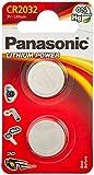 Panasonic Specialist Lithium Coin Batteries CR2032