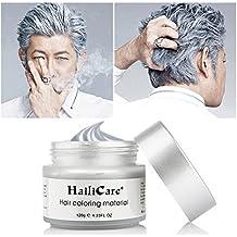 hailicare 120 g de cera pelo Hombres Mujeres de pelo profesional Pomades, larga duración Hidratante modelado suave mate de peluquería pelo barro Gel color crema