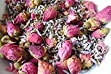 Rosebuds & Lavender | with dried Lavender flowers, Rosebuds & essential oils of Lavender & Rose | can de used in pot pours, crafts, soap making & as a natural confetti | 100 g.