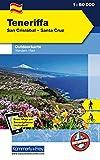 Teneriffa San Cristobal - Santa Cruz: Outdoorkarte Spanien, 1:60 000 Wandern/ Rad Free Map on Smartphone included (Kümmerly+Frey Outdoorkarte International) - Kümmerly+Frey