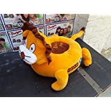 Baby Seat Chair Stool Soft Toy Chair Comfortable Stuffed Spongy Hugable Cute Soft Toy Baby - 46 Cm (Multi Colour)/Kids Playing Seat/Lion Baby Seat/Soft Toys Seat For 1 To 2 Years Baby-Free Shipping
