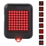 Bike Turn Signals Lights, Waterproof Bike Taillights, 80 Lumens 64 LED Light Beads