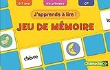 Jeu de mémoire J'apprends à lire ! : 6-7 ans, 1re primaire, CP
