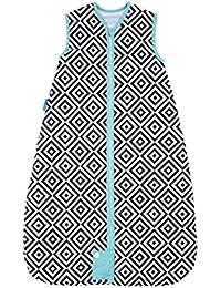 The Gro Company Jet Diamonds Travel Grobag Baby Sleeping Bag, 6-18 Months, 1.0 Tog