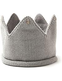 yeahibaby niño Corona Banda Pelo tejer sombrero fotografía Prop para bebé  ... 5bc9e0b03f1