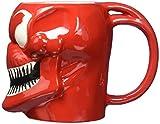 Officially Licensed Marvel Superhero Molded Mugs 16oz - Thor Spiderman Carnage Venom (Carnage) by Mavel