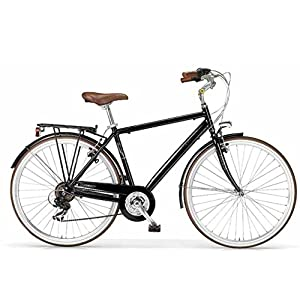 MBM B o U L e V A R D 836U/18, Bici da Trekking Uomo, Nero A01, 58