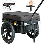 TIGGO 16' Lastenanhänger & Handwagen Fahrradanhänger 60kg Zuladung
