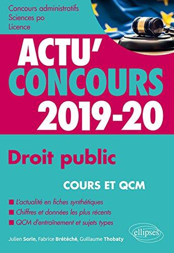 Acheter maintenant! Droit public - concours 2019-2020