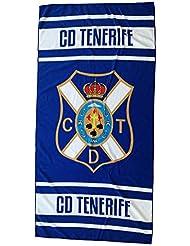 CD Tenerife Toaten Toalla, Blanco / Azul, Talla Única