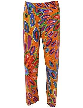 Aspesi Mujer 011021024 Multicolor Seda Pantalón