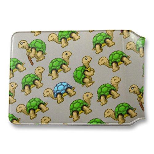Pixel Schildkröten Oyster Karte Halter
