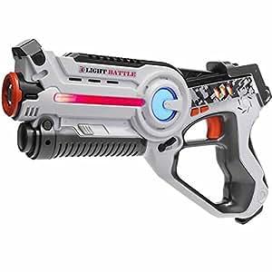 light battle active laser tag pistole wei lasertag spielzeugpistole f r kinder lba103. Black Bedroom Furniture Sets. Home Design Ideas