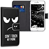 kwmobile Hülle für Apple iPhone 6 / 6S - Wallet Case Handy Schutzhülle...