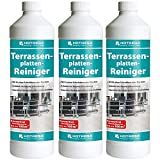 3 x HOTREGA Terrassenplatten-Reiniger 1000ml Flasche