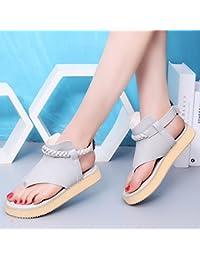 Im Frühjahr und im Herbst, eine große Anzahl von Frauen Schuhe und komfortables Zuhause flache Schuhe student Schuhe, Schwarz, 35