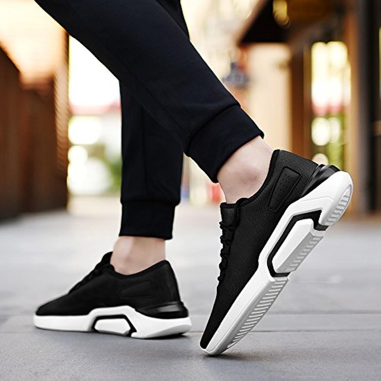 GUNAINDMX  Spring And Autumn Men's scarpe Sports Leisure Running scarpe Wild,44,8820 nero And bianca   Nuovo 2019    Scolaro/Ragazze Scarpa