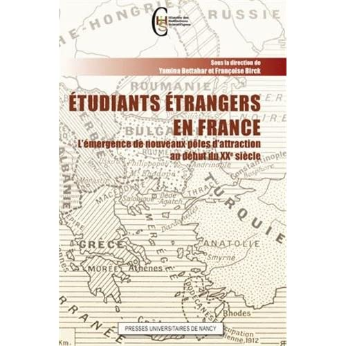Etudiants étrangers en France : L'émergence de nouveaux pôles d'attraction au début du XXe siècle