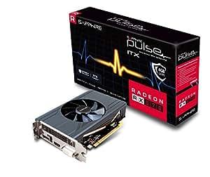 SAPPHIRE Radeon RX 570 PULSE ITX 4 GB GDDR5 DP/HDMI/DVI-D Graphics Card - Black