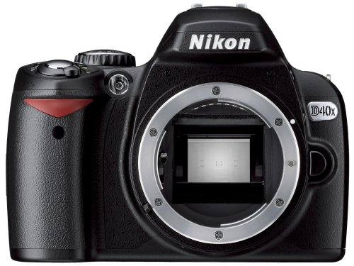 Nikon D40X 25424 10.2 MP Digital SLR Camera with 1x Optical Zoom (Black)  available at amazon for Rs.82557