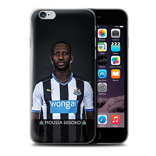 Officiel Newcastle United FC Coque / Etui pour Apple iPhone 6+/Plus 5.5 / Pack 25pcs Design / NUFC Joueur Football 15/16 Collection Sissoko
