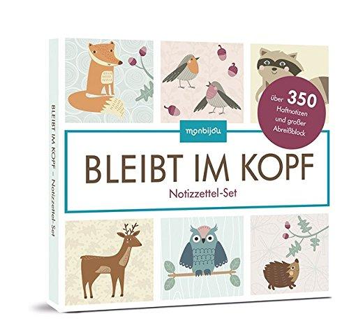 Buch Eule Set Kleine (Bleibt im Kopf: Notizzettel-Set)