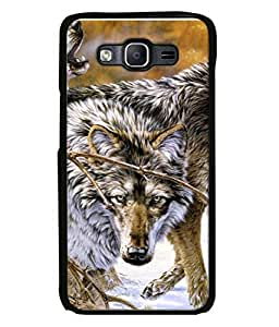 Fuson Designer Back Case Cover for Samsung Galaxy On5 (2015) :: Samsung Galaxy On 5 G500Fy (2015) (Lomdi Cunning Animal Wild animal running)
