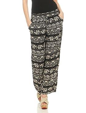 malito Mujer Pantalones Patrón D