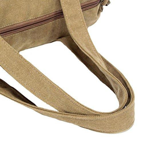 Chang Spent casuale messenger bag borsa di tela a tracolla della borsa retrò delle donne , a a