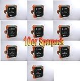10 kompatible Drucker Tintenpatronen für Canon BJC 55, 85 85w, BJ-M 70M, BJ- M 40, BJC 50, BJC 70, BJC 80, BJ 30, BJC 35, BJC 35v, IJ 40 (10 schwarze Patronen, ersetzen BCI-10)