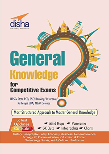General Knowledge for Competitive Exams – UPSC/ State PCS/ SSC/ Banking/ Insurance/ Railways/ BBA/ MBA/ Defence