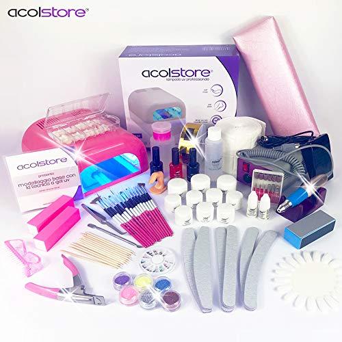 Acol store ★ kit ricostruzione unghie copertura in gel completo professionale