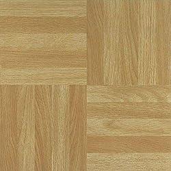It's DIY Time 100 VINYL FLOOR TILES: Dark Wood SELF-STICK