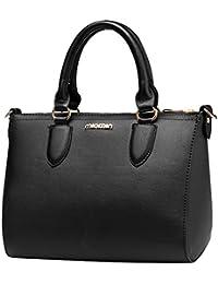 7805724af3 MissFox Borsa Messenger Donna Elegante Cerniera Design Tote