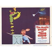 The Magic World of Topo Gigio Poster (11 x 14 Inches - 28cm x 36cm) (1965) Style D