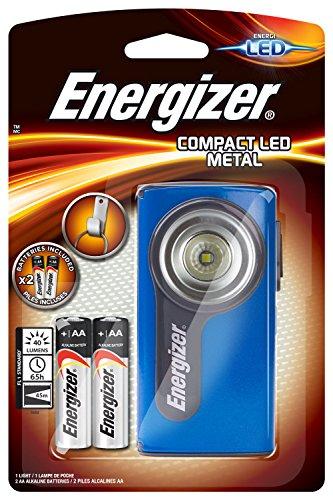 Energizer Linterna Compacta de Bombilla Led Integrado, Negro