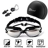 Gafas de natación, incluir Ajustable gafas de natación con Enchufe de oído +...