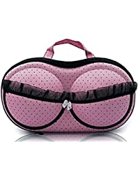 Shreeji Ethnic Lingerie Nylon Bra Bag Travel Organizer Small Compact Bra,Organizer Case,Travel Bag Bra Storage...