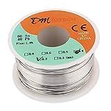 Sourcingmap 0,3mm 100g 60/40Colophane Core Étain plomb Rouleau de fil de fer à souder