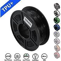 SUNLU 1.75mm Flexible TPU 3D Printing Filament, Dimensional Accuracy +/- 0.02 mm, 1KG Spool, 1.75 mm