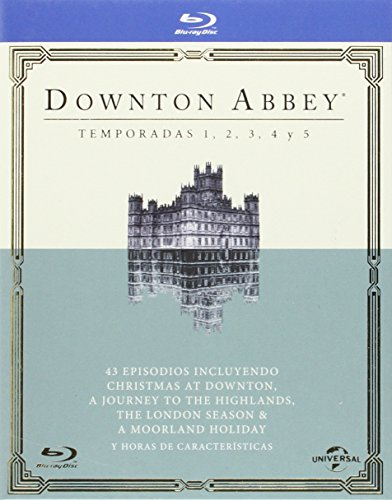 Pack Downton Abbey - Temporadas 1-5 [Blu-ray]