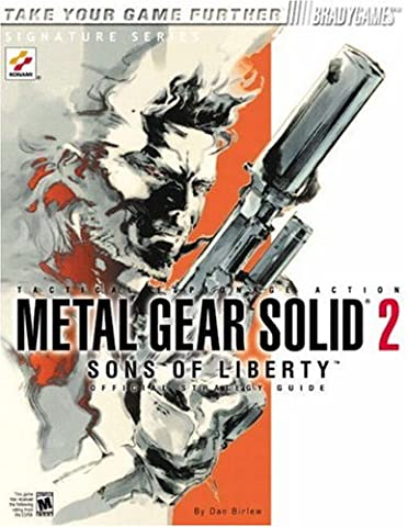 Metal Gear Solid 2: Sons of Liberty Official Strategy