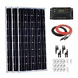 Giosolar 300Watt 12Volt monocrystalline Solarpanel-Kit mit 30A PWM LCD-Controller für Netzunabhängige RV-Set
