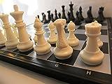 Chessebook 510769 - Magnetisches Schachspiel s/w 36 x 36 cm