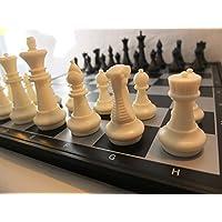 Chessebook-510769-Magnetisches-Schachspiel-sw-36-x-36-cm