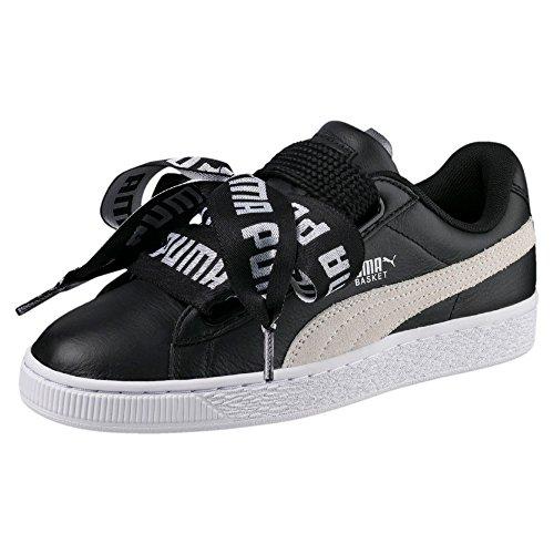 Puma Basket Heart DE W chaussures black/white