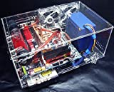 Nhowe DIY Acrylic Personality Standard ATX Closed Transprent Computer Case Computer Main Box