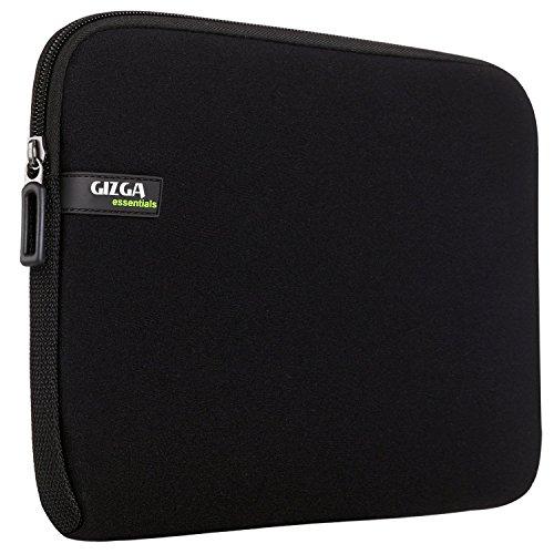 GIZGA 11.6 Zoll Laptop Tasche Schutzhülle für 11-11.6 Zoll MacBook Air, Acer, Asus, Dell, Hp, Lenovo laptop Schwarz